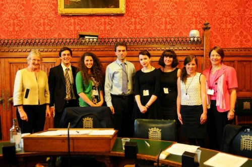 Tom Brake MP with youth panel