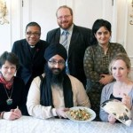 Interfaith low budget lunch at Bahá'í Centre