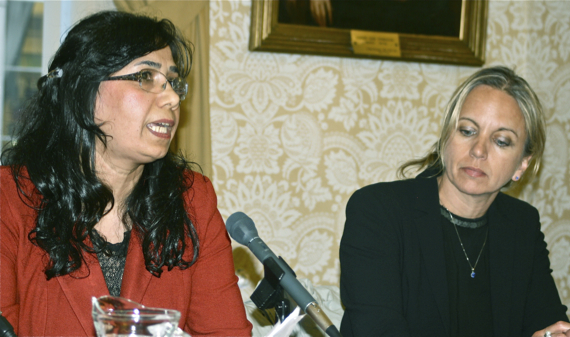 Mahnaz Parakand and Kirsty Brimelow QC