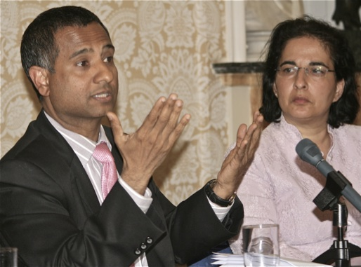 Dr Ahmed Shaheed and Dr Nazila Ghanea