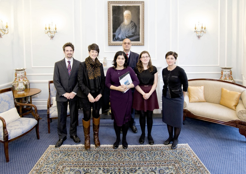 Baroness Warsi at National Baha'i Centre