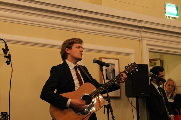 Luke Slott performs music composed to Baha'i Writings